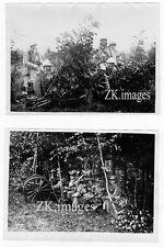 MANOEUVRE MILITAIRE 2 Photos Canon Fantassin Guerre '32