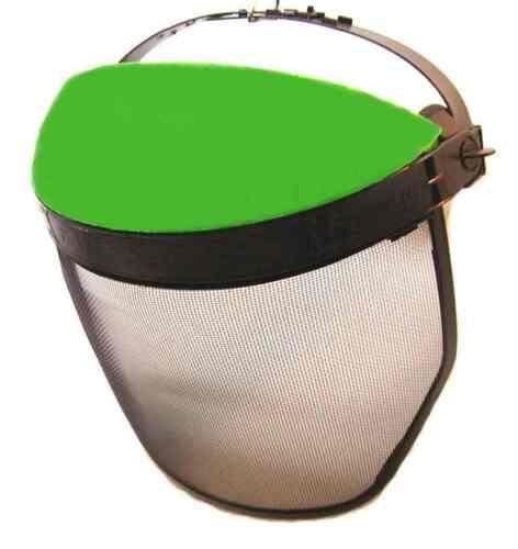 Gesichtsschutz Maschenvisier Visier für Kettensäge Freischneider u Motorsense