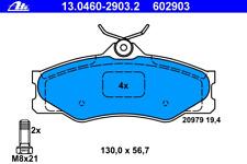 ATE Bremsbelagsatz Scheibenbremse 13.0460-2903.2 für VW TRANSPORTER T3 vorne Bus