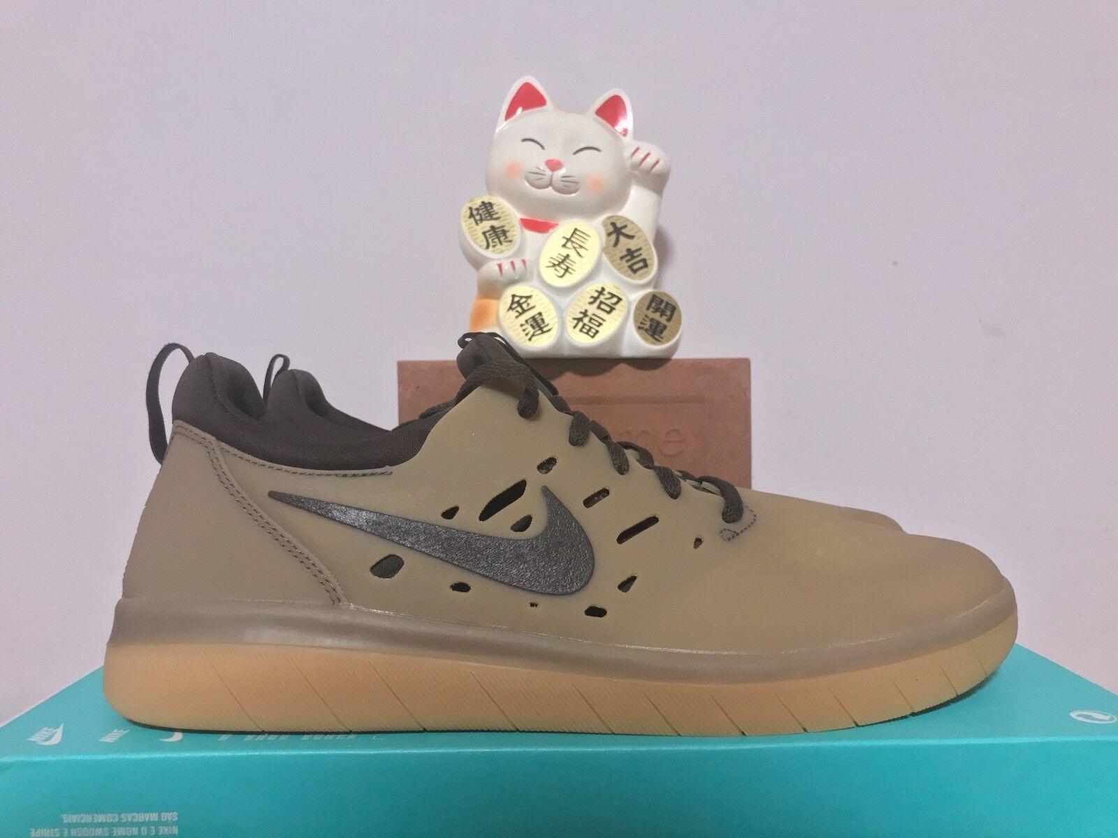Nike SB Nyjah Free Gum Dark Baroque [AA4272-992] Brown New Size 10 [AA4272-992] Baroque f39ce4