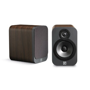 Q-Acoustics-3020-Bookshelf-Speakers-American-Walnut-Pair
