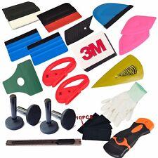 32pcs PRO Tools Car Wrap Vinyl Scratchfree Squeegee Magnet Cutter felt Combo Set