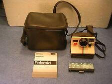Polaroid One Step SX-70 Land Camera Rainbow Case Sears Special Edition Vintage