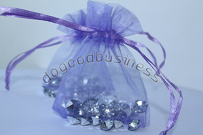 100 Luxury Organza Wedding Favour Chrisamas Gift Bags Jewellery Packing Pouches