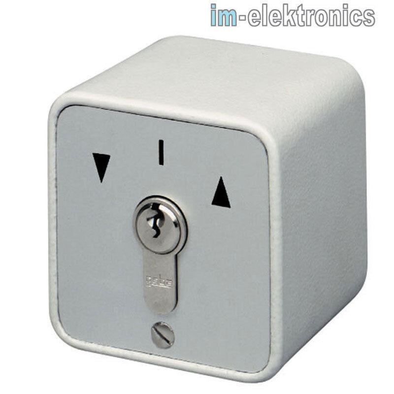 AP Schlüsselschalter Auf Ab 2-seitig tastend geba 009.1301.10 Tor Antrieb Motor | Vorzüglich