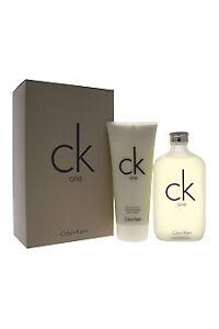 Ck One Calvin Klein Unisex 2 Pcs Set 6.7 Oz 200 Ml EDT Spray 6.7oz Body  Lotion 5e09b7a59b