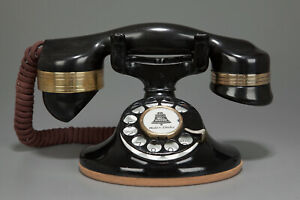 Vintage-1930-039-s-Western-Electric-D1-202-Telephone-W-Automatic-Electric-Handset