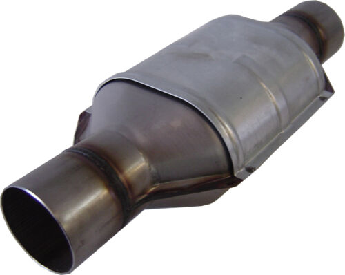 """2 1//2/"""" 400 cell Stainless Steel Universal CERAMIC core Catalytic Converter NEW"""