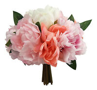 Peony Bouquets Many Colors Peonies Bridal Silk Wedding Flowers Centerpieces