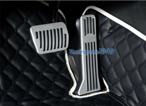 No drilling sport Fuel Brake AT Pedal Pad Covers plate For Mazda 6 2014-UP