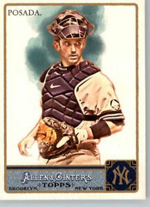 2011 Allen & Ginter # 144 Jorge Posada- New York Yankees