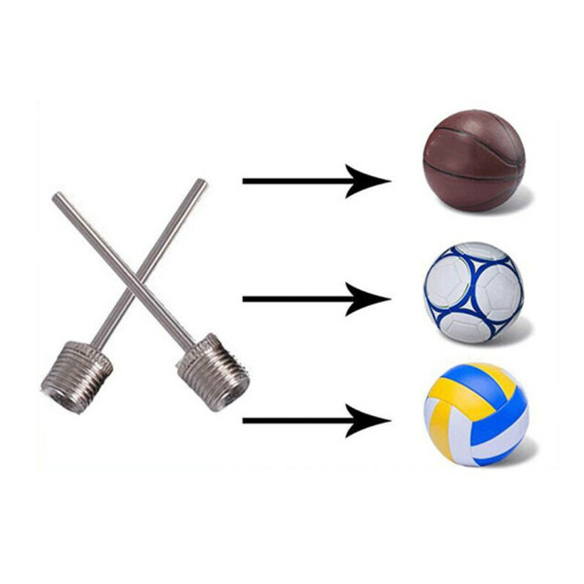 10 pcs Basketball Football Volleyball Toy Ball Inflatable Valve Pump Gas Needle.