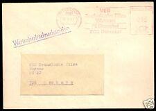 AFS, VEB Technische Filze Wurzen, PS Dittersdorf.., o Dittersdorf, 9133, 23.1.81