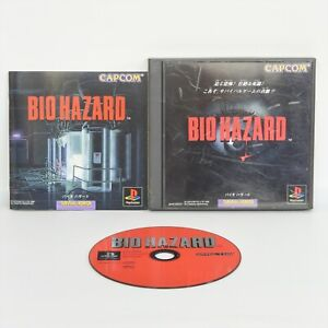 BIOHAZARD-1-Resident-Evil-PS1-Playstation-ccc-For-JP-System-p1