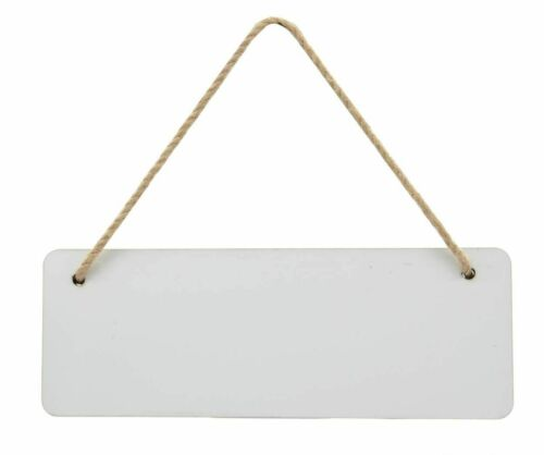Heat Press Print Sublimation MDF Rectangle Door Plaque Hanger 28x10cm LP-MD-C