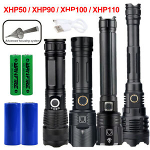 16 Rechargeable Emergency Light 500 metres Powerful NEW LED Light Torch 23