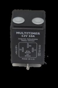 12v 5 Pin 10A Adjustable Multitimer Relay