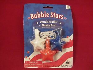 Take One Bubble Stars Wearable Bubble Blowing Fun NOC (417B) 14411