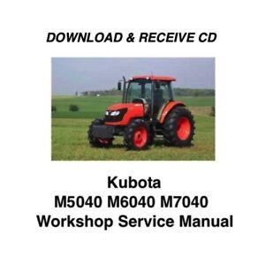 Kubota m7040 parts manual