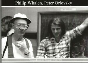 PHILIP-WHALEN-PETER-ORLOVSKY-NAROPA-BOULDER-1970-BEAT-WRITERS-PHOTO-POSTCARD-34
