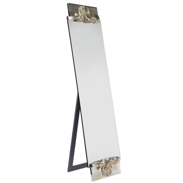 Isabella Mirror Floor Standing Baroque Silver Full Length RRP £399 SALE £299