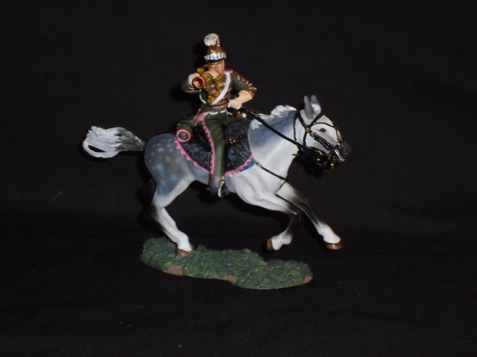 BRITAINS 36072 NAPOLEONIC FRENCH 3TH LANCERS BUGLER