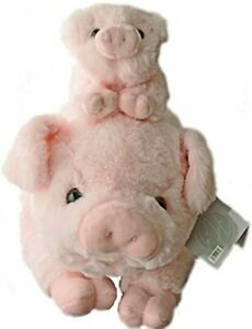 Home-Pigs-Plush-Stuffed-Animals-Set-18-inch-Pig-W-Baby-Piglet-Kids-Toys-Gift