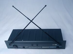 Samson VR3TD True Diversity Receiver Mic System VHF TD AS IS