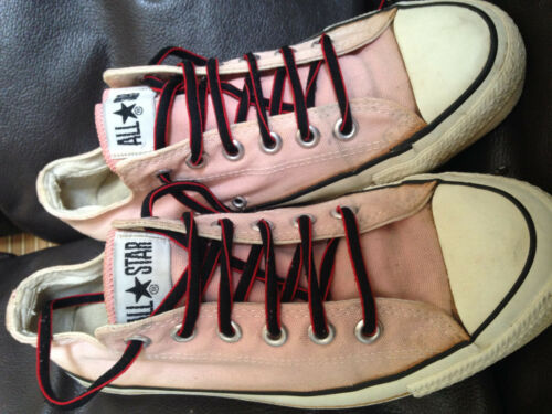 1980'S Converse ALL STAR/ Made in USA!(7½) VINTAGE