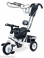 3in1 Activity Unisex Trike Smart Kids Bike Ride On Toy Uk White