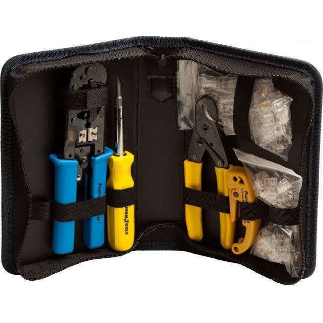 Platinum Tools 90109 Todo Todo Todo en Uno Modular Plug Kit 07d169