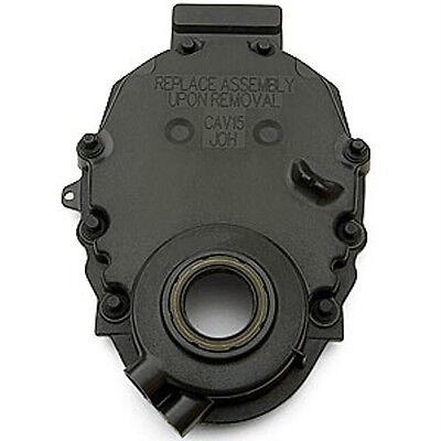 Enginetech Chevy 350 Vortec Plastic Timing Cover w//Sensor Hole 96-02