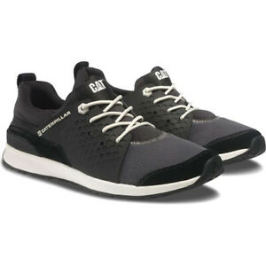 NEW-CAT-Caterpillar-Men-039-s-UNEXPECTED-Sneaker-GRAY-BLACK-SIZE-9-MED-FREE-SHIP