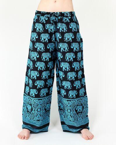 Butterflyhose//colpo Pantaloni con elefanti taglia unica Pump Pantaloni Goa VINTAGE