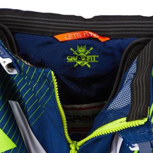One Industries Gamma DH tsar Bleu Vert Vélo BMX Racing Short Cyclisme Neuf avec étiquettes 34