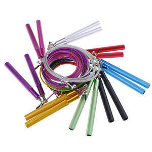 3M-Speed-Skipping-Rope-Adjustable-Steel-Cable-Fitness-Exercise-Crossfit-Boxing