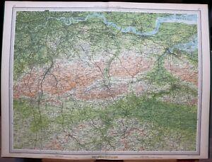 Chatham England Map.1939 Survey Map England Wales Chatham Tonbridge London River