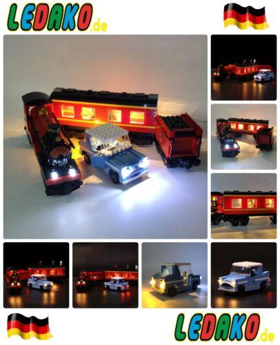 LED Beleuchtungsset für Lego® Harry Potter™ Hogwarts™ Express 4841 von ledako