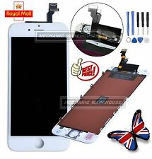 """White Retina LCD Display Touch Screen Digitizer Lens Assembly for iPhone 6 4.7"""""""