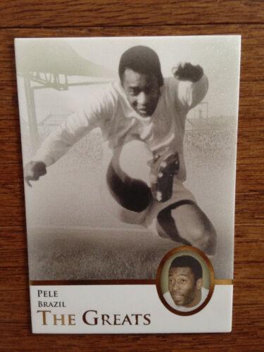 Brazil PELE Mint 2013 Futera Greats Unique Soccer Card