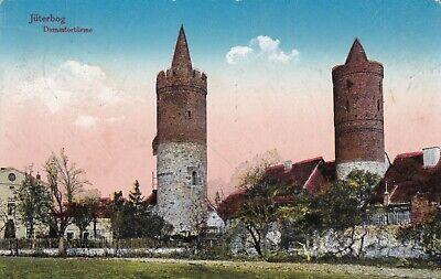 #31 - Alte Ak Jüterbog - Dammtortürme - Brandenburg - Gelaufen 1926 Noch Nicht VulgäR