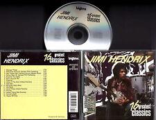 JIMI HENDRIX - 16 Greatest Classics CD VERY RARE