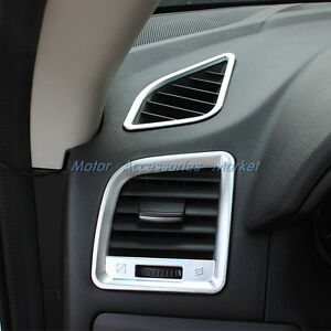 Image Is Loading 4pcs Chrome Interior Air Condition Vent Cover Trim