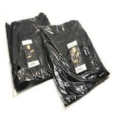 2 New Chef Works Nbbp 000 4xl Black Baggy Designer Chef Pants 4x Large