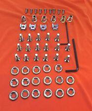 51 Piece Audi TT Mk.1 Stainless Steel Countersunk Engine Bay Cover Fastener Kit