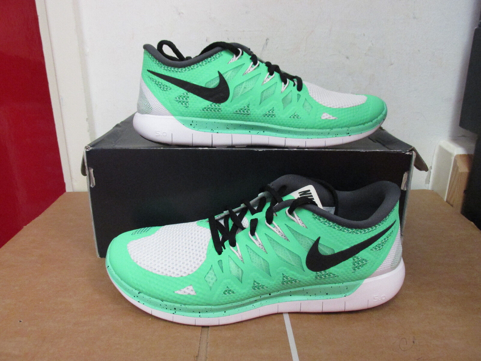new styles b1737 f3f1e Nike id woens libera 5,0 formatori formatori 5,0 653715 991 scarpe noi 9,5  ue 41 778e53