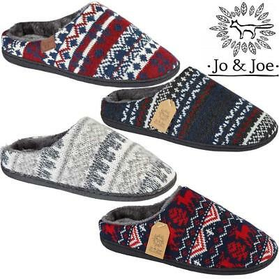 MENS CORD MEMORY SLIPPERS WARM WINTER EASY ACCESS HERRINGBONE SOFT SOLE SHOES