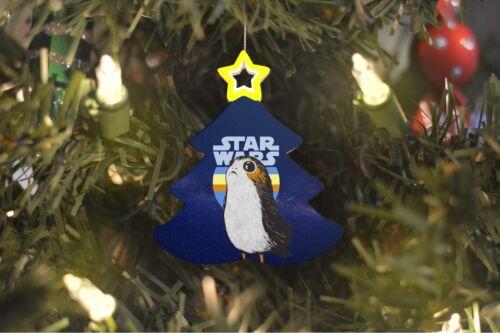 Porg Star Wars Christmas Tree Ornament