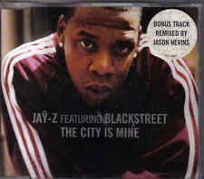 Jay-Z feat Blackstreet-The City Is Mine cd maxi single 5 tracks