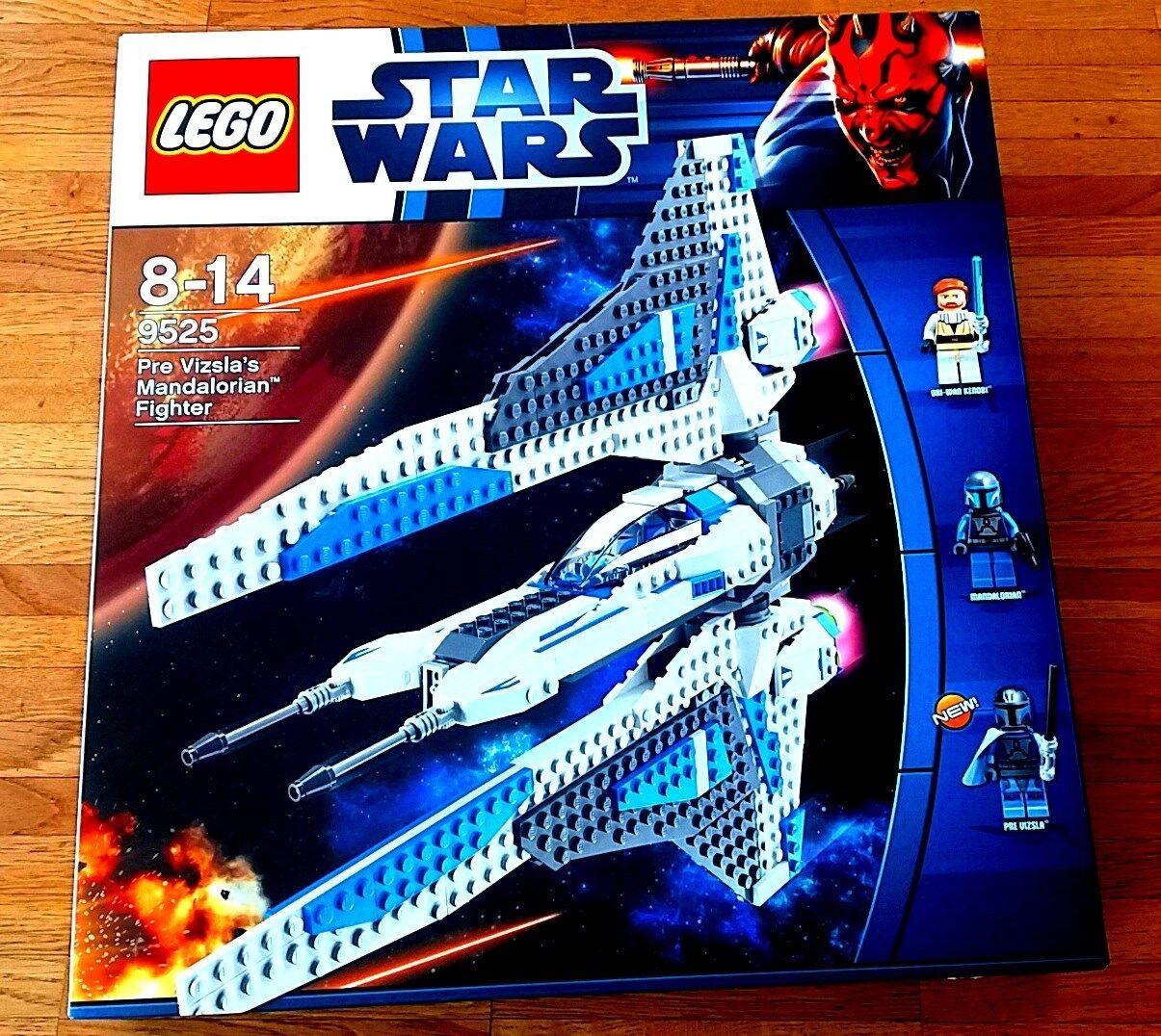 LEGO® Star Wars™ 9525 PreVizsla's Mandalorian Fighter OVP mit Anleitung Anleitung Anleitung e6ef10